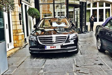Private transfer from the center of Brussels <-> Paris Center MB S-CLASS 3 PAX