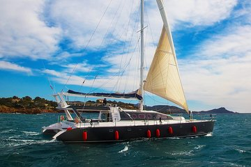 Private Riviera Cruise on High-end Catamaran - up to 30 Passengers!