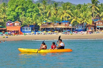 1-Hour Private Guided Introduction to Kayaking in Goa
