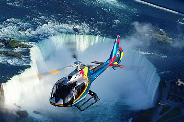 Niagara Falls Canada Tour + Helicopter Ride and Skylon Tower Lunch