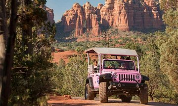 Go Off-Road Jeeping through Sedona