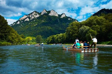 Dunajec River Rafting Private Full-Day Tour from Cracow
