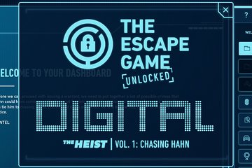 Escape Game Virtual Experience - Unlocked The Heist Volume 1