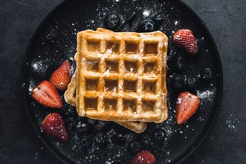 Belgian Waffles Private Virtual Cooking Class