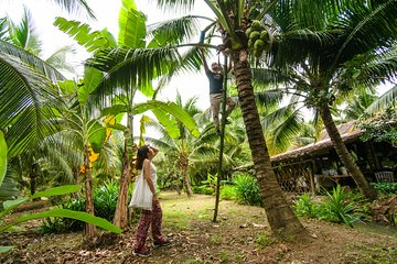 Coconut Farm & Floating Market + Boat Ride & Railway Market