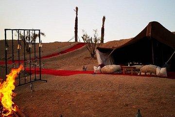 Marrakech: Sunset Camel Riding & Magical Dinner In Agafay Desert