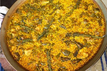 Spanish Paella Private Online Cooking Class