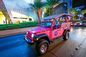 Las Vegas City Lights Night Tour by Jeep with Optional Helicopter Flight