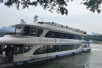 4-Star Li-River Cruise boat ticket and River Wharf Transfer from Guilin hotel