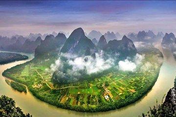 Li River Cruise from Guilin to Yangshuo plus Jiuxian Village and Yulong River