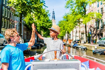 Amsterdam Canal Cruise by Small Open Boat from Anne Frank House