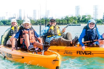 Kayak Fishing in Singapore, The Playground Tour