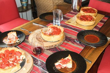 Traveling Spoon Chicago-Style Deep Dish Pizza Private Online Cooking Class