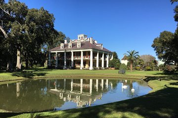 Small-Group Airboat and Plantations Tour with Gourmet Lunch from New Orleans