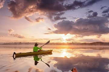 Magical Sunset Kayaking in Stockholm's Archipelago