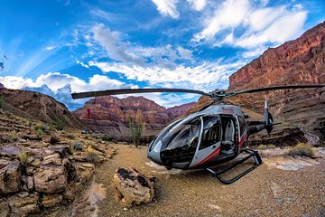 Grand Canyon deluxe-helikoptertour vanuit Las Vegas