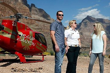 Grand Canyon-helikoptertour vanuit Las Vegas met champagnepicknick