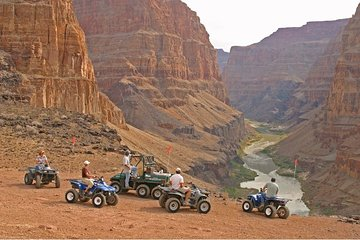 Grand Canyon North Rim lucht- en grondtour met optionele ATV-rit