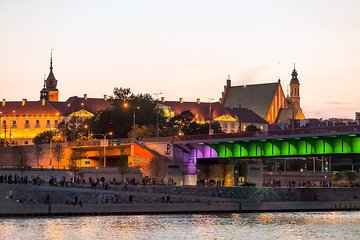 Evening vistula river cruise