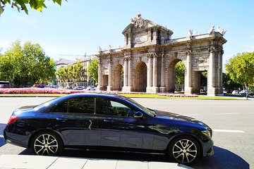 Madrid Barajas Airport Private Transfer To Madrid City