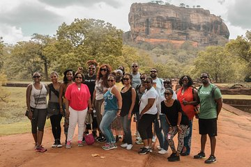 Sigiriya Rock and Wild Elephant Safari from Kandy