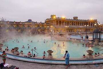 Tickets to Széchenyi spa + Lángos (hungarian streetfood) cooking class