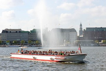 Alster tour - the city tour on the water!
