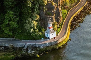 Cycling the Seawall: A relaxing audio tour cycle along the Stanley Park Seawall
