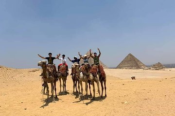 Half Day Tour to Giza Pyramids and Sphinx including Camel Ride