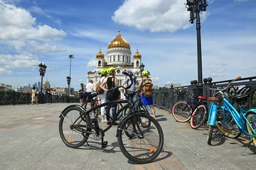 Around Moscow on Wheels: Biking tour