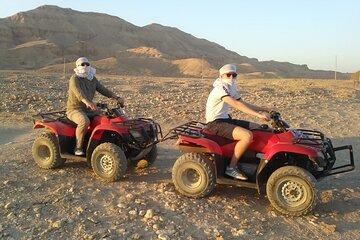 Morning or Sunset Quad Bike Desert Safari Tours in Luxor