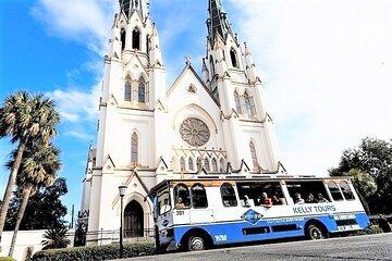 Explore Savannah Sightseeing Trolley Tour with Bonus Unlimited Shuttle Service