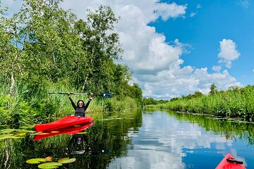 Kayak Tour in National Park & Giethoorn | Coronaproof Private Tour for max 6 pax
