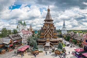 Moscow: Metro, Izmailovo Market and Traditional Russian Barbecue Group Tour