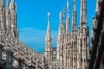 Quick Skip the Line Guided Tour of Duomo & Rooftop with Access by Lift