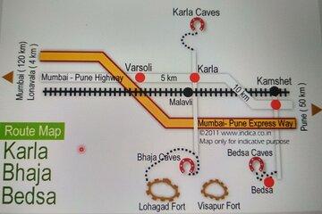Excursion - Rock Cut Caves Karla, Bhaja Bedsa