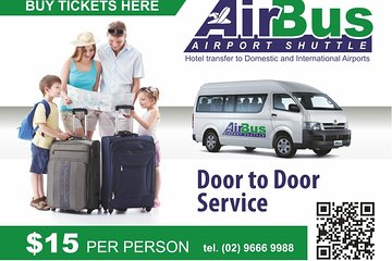 Airport Shuttle Transfer from Sydney City to Sydney Airport