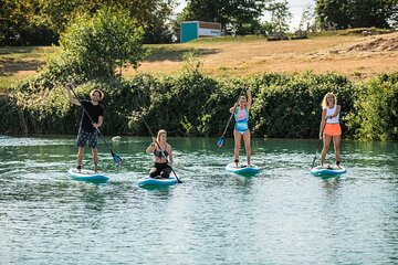 One and a half hours Stand Up Paddling SUP rental in Berlin