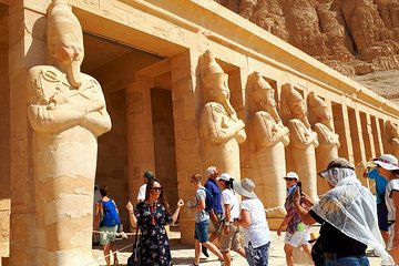 Day Tour from Airport to Luxor Monuments Include Lunch Transfers Entry Guide