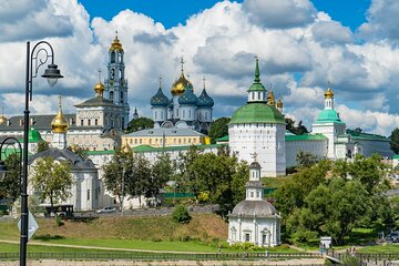 Private Day Trip to Sergiev Posad from Moscow Including Holy Trinity Lavra