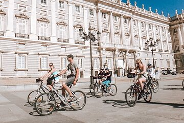 Private Madrid Bike Tour with Friendly Local Guide