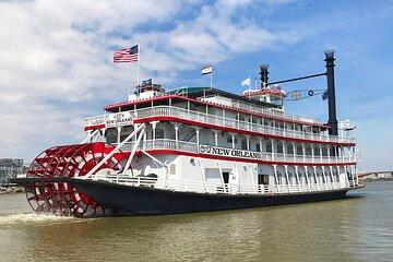 New Orleans Steamboat Natchez Harbor Cruise
