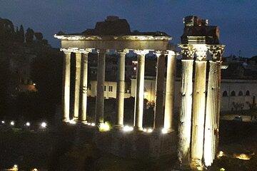 Small Group Night Walking Tour around Roman Forum