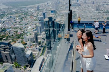 King Power Mahanakhon SkyWalk Official Admission Ticket - Weekend Promotion