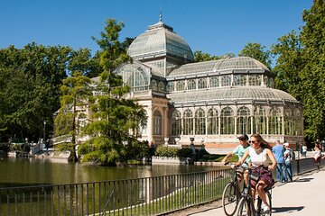 Rent an Electric Bike in Madrid- FREE SELF-GUIDED TOUR