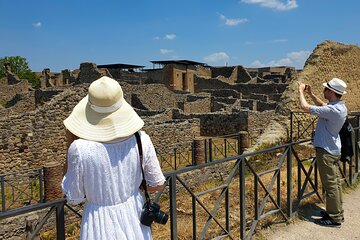 Private Transfer from Naples to Sorrento with Guided tour in Pompeii