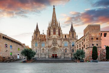 Barcelona's beautiful Gothic Quarter - Private Live Virtual Experience