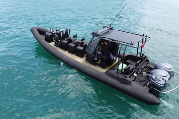 Military Type Boat Ride in Southern Islands