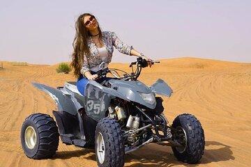 Evening Red Desert Safari With Quad Bike