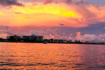 Sunset time in Miami